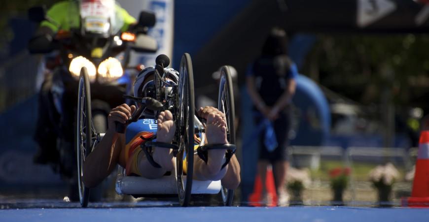 Bici paraolímpicos