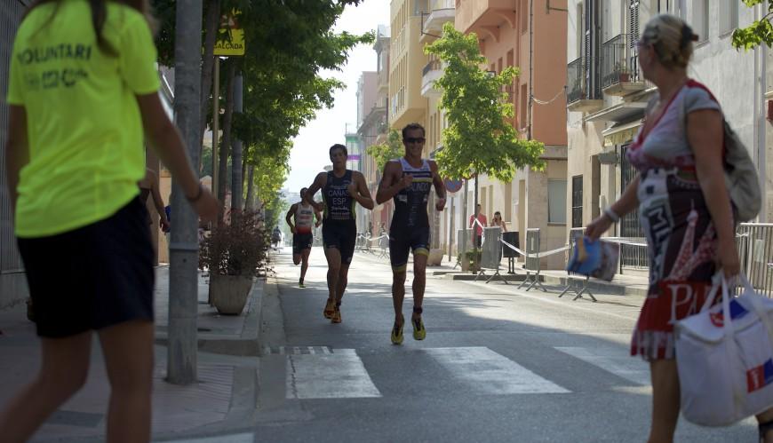 Corriendo por la calle