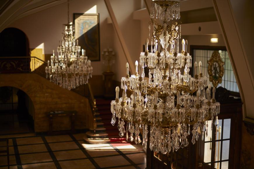 Lámpara del Teatro Jovellanos