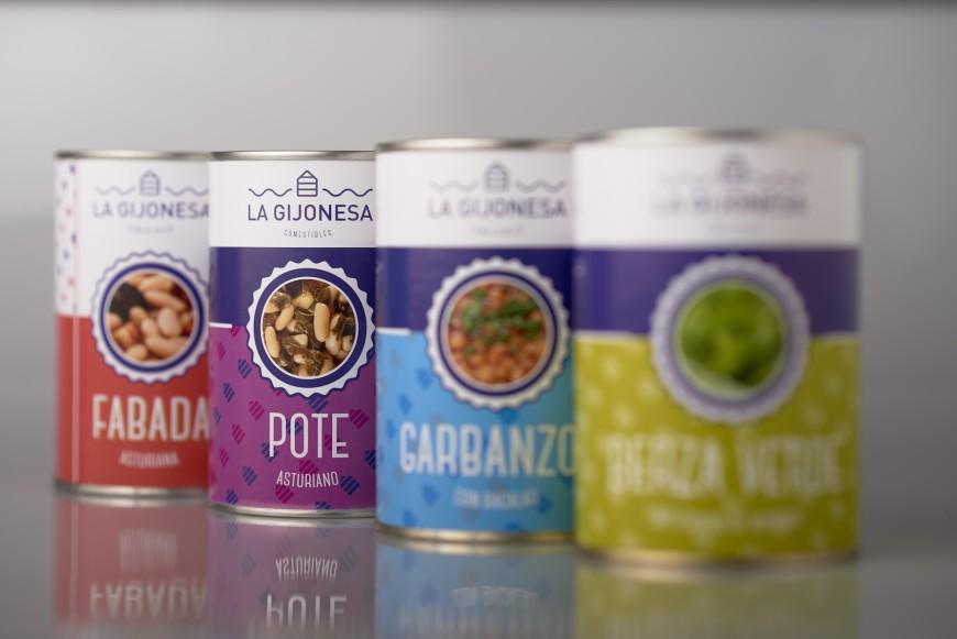 gastronomia La Gijonesa bodegon Gijon latas pote asturiano